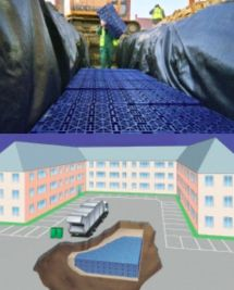 High Performance UDG Urban Drainage Geomembrane System