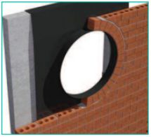 Cavity trays for door and window openings